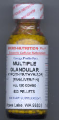 Multiple Glandular for Weight Loss
