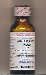 Click for details about Winter Tonic Influenzinum 2016-17 economy 800 pellets