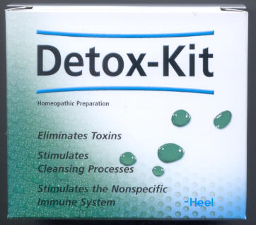 Click for details about DETOX KIT complete detox kit all homeopathic SALE