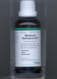Click for details about Berberis  Homaccord  1.6 fluid oz On Sale