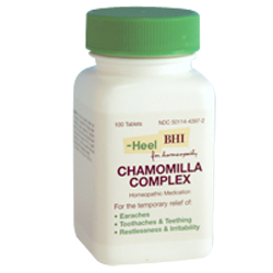 Click for details about Chamomilla Complex EAR Complex100 tablets