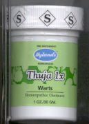 Click for details about Thuja Ointment 1 ounce jar