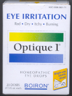 Click for details about Optique with Cineraria Maritima 20 sterile doses