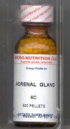 Click for details about Adrenal Gland 6C 1 oz with 800 pellets