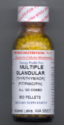 Click for details about Multiple Glandular Support 12C 1 oz pellets