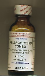 Click for details about Allergy Relief Combo 30C 1 oz pellets NEW