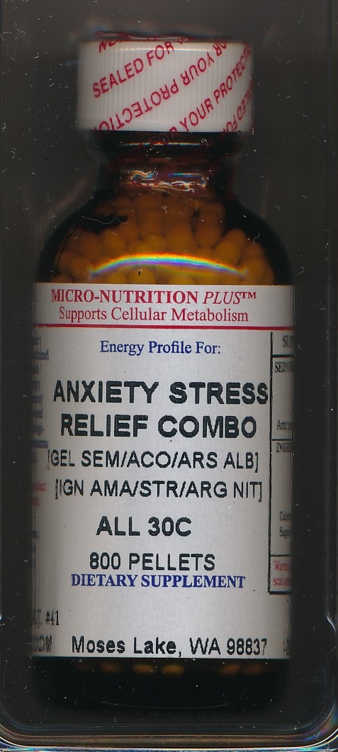Click for details about Anxiety Stress Relief Combo 30C 1 oz pellets NEW