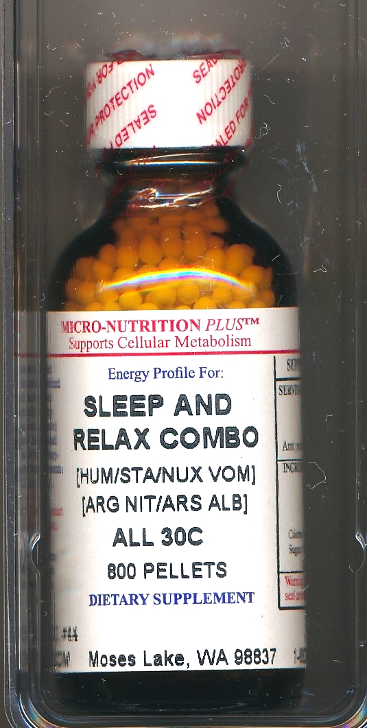 Click for details about Sleep and Relax Combo 200C economy 800 pellets NEW
