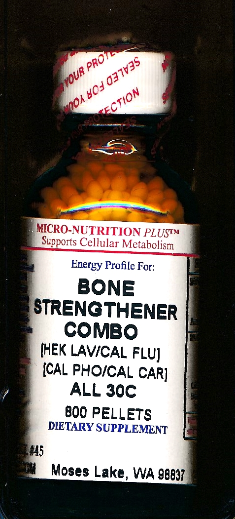 Click for details about Bone Strengthener 30C economy 800 pellets