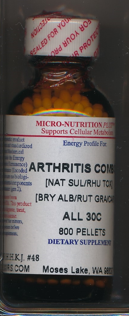 Click for details about * Arthritis Combo 30C economy 1 oz pellets Intro Sale