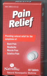Click for details about Pain Relief  60 tablets