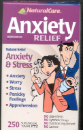 Click for details about Anxiety Relief 120 tablets