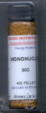 Click for details about Mononucleosis 30C  400 pellets