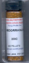 Click for details about Medorrhinum 200C 400 pellets