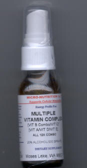 Click for details about Vitamin Multiple Complex 12X 1 oz spray
