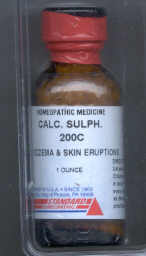 Click for details about Calcium Sulphur 200C 1 oz bottle with 680 pellets