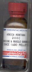 Click for details about Arnica    200C 1 oz bottle with 680 pellets