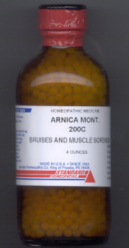 Click for details about Arnica 200C 4 oz bottle with 2,720 pellets