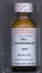 Click for details about Kali Bichromicum  200C 1 oz with 680 pellets