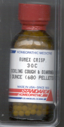 Click for details about Rumex Crispus 30C 1 oz bottle with 680 pellets