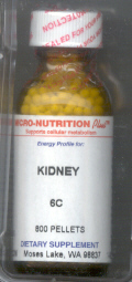 Click for details about Kidney 6C  1 oz  pellets