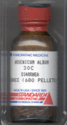 Click for details about Arsenicum Album for animals 30C 680 pellets 15% SALE