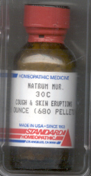 Click for details about Natrum Mur 30C 1 oz bottle of 680 pellets 20% SALE