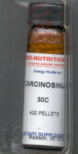 Click for details about Carcinosinum 30C 400 pellets