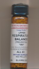 Click for details about Upper Respiratory Balance 400 pellets
