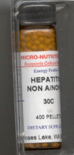 Click for details about Hepatitis C  Non-A/Non-B 30C 400 pellets