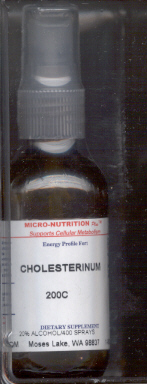 Click for details about Cholesterinum 200C 1 oz spray