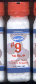 Click for details about # 9 Natrum Mur  6X 500 tablets 10% off SALE