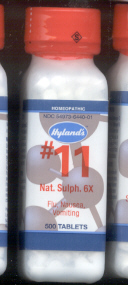 Click for details about Natrum Sulphur #11  6X  1000 tablets 18% off SALE!