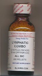 Click for details about Lymphatic Combo 30C 1 oz 800 pellets