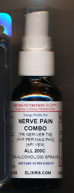 Click for details about Nerve Pain Combo 200C 1 oz spray Topical Relief