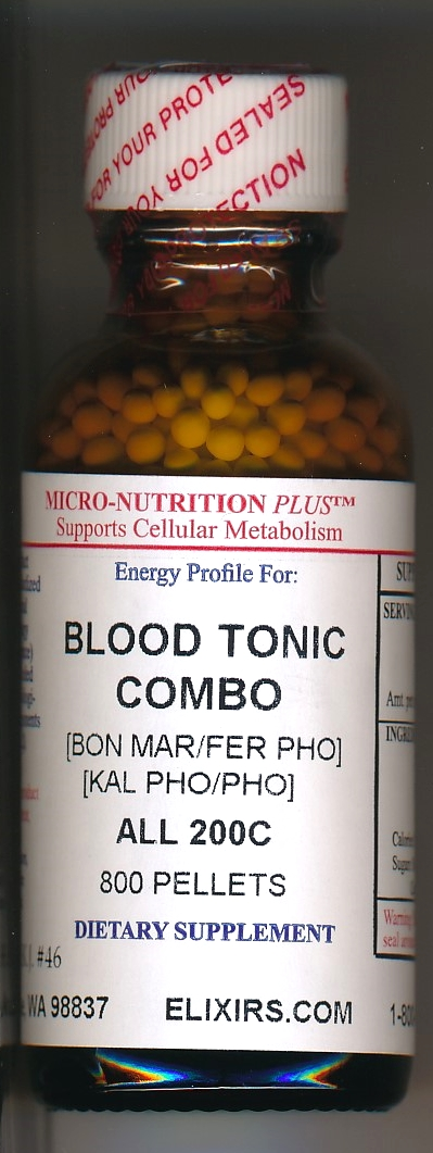 Click for details about Blood Tonic Combo 200C economy 800 pellets