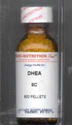 Click for details about DHEA 6C 400 pellets