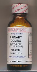 Click for details about Urinary Combo 200C potency 1 oz with 800 pellets