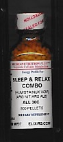 Click for details about Sleep and Relax Combo 30C economy 800 pellets