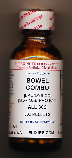 Click for details about Bowel Combo 30C NEW 1 oz economy 800 pellets