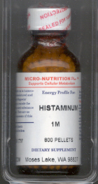 Click for details about Histaminum 1M 1 oz with 800 pellets