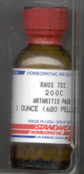 Click for details about Rhus Tox 200C 1 oz with 680 pellets