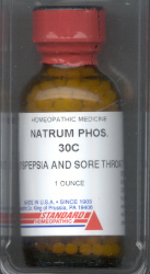 Click for details about Natrum Phosphate 30C 1 oz with 680 pellets 15% SALE
