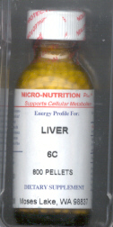 Click for details about Liver 6C 1 oz pellets
