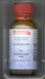 Click for details about Pulsatilla 30C  1 oz with 680 pellets 15% SALE