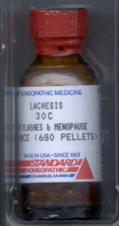 Click for details about Lachesis  30C 1 oz bottle with 680 pellets 15% sale