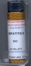 Click for details about Hepatitis B 30C 400 pellets