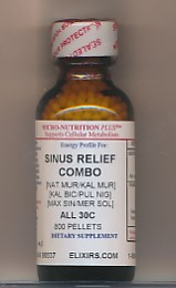 Click for details about *Sinus Combo 30C economy 800 pellets