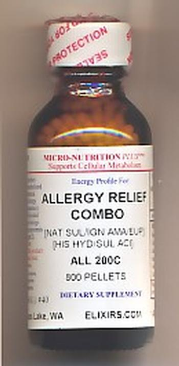 Click for details about Allergy Relief Combo 200C 800 pellets NEW 15% Intro Offer