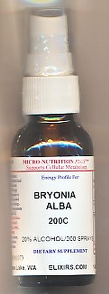Click for details about Bryonia 200C 1 oz spray 15% SALE